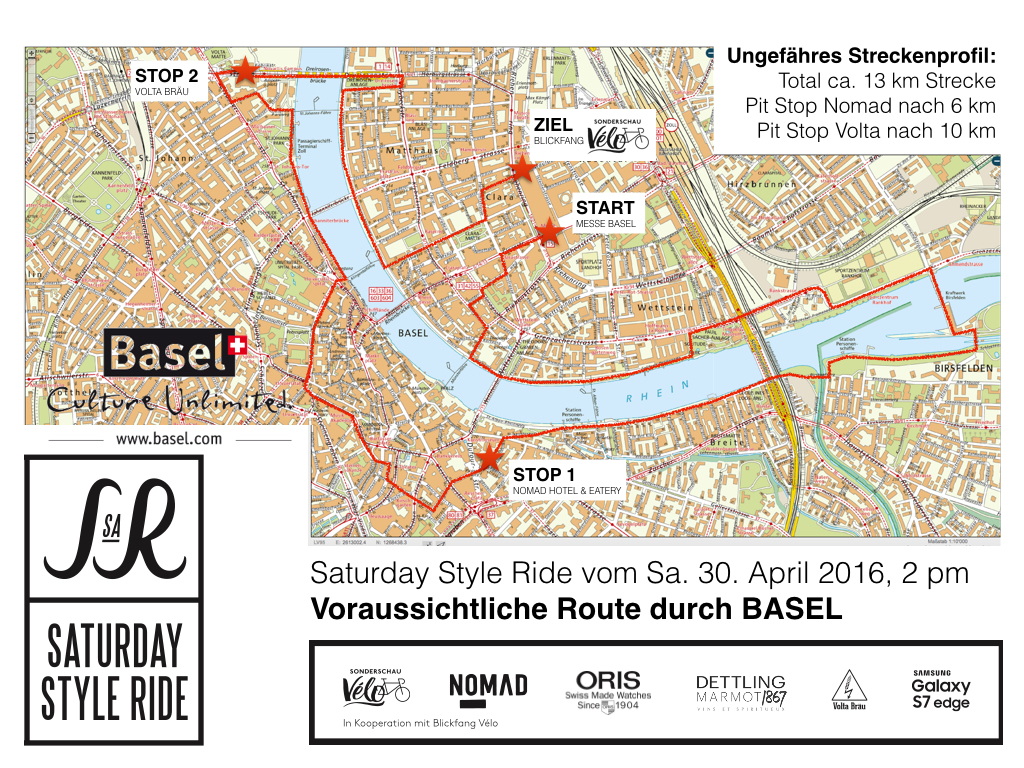 Style Ride Basel Route 2016.001