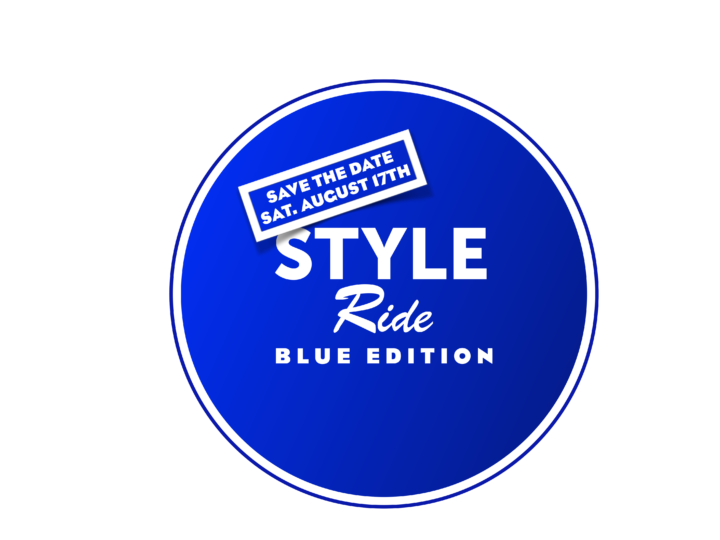 Save the date: Blue Style Ride 2019